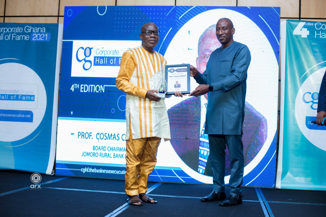 Presentation of award to the Board Chairman
